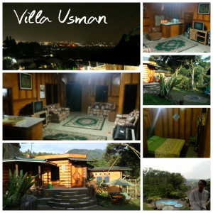 villa usman - view-bagus