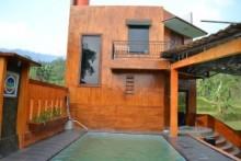 sewa villa di puncak kolam renang murah pribadi di bogor