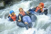 River Tubing, Puncak